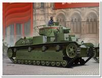 Т-28 (ранний) многобашенный средний танк. 83851 HobbyBoss 1:35