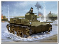 Т-38 легкий плавающий танк. 83865 HobbyBoss 1:35
