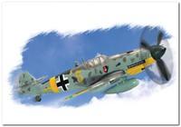 Bf.109G-2 истребитель. 80223 HobbyBoss 1:72