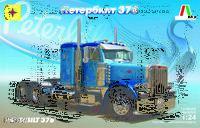 Петербилт-378 седельный тягач - 602425 Моделист 1:24