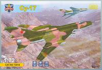 Су-17 истребитель-бомбардировщик. 72018 Modelsvit 1:72