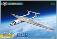 М-17 «Стратосфера» высотный дозвуковой самолёт. 72024 Modelsvit 1:72