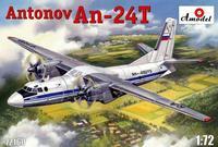 Ан-24T военно-транспортный самолет. 72160 Amodel 1:72