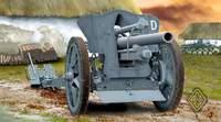 Немецкая полевая гаубица FH18 10,5 cm. Масштаб 1/72