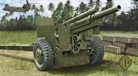 Американская гаубица M-101 (M2A1) 105mm. Масштаб 1/72