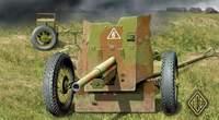 Советское 45мм противотанковое орудие обр. 1937г. Масштаб 1/72