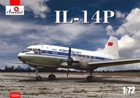 Ил-14П пассажирский самолет - 72254 Amodel 1:72