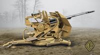 Зенитная пушка 3cm Flak 103/38. Масштаб 1/72