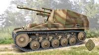 """Немецкая САУ Sd.Kfz.124 """"Wespe"""". Масштаб 1/72"""
