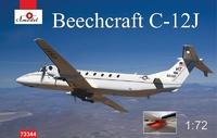 C-12J Beechcraft тактический военно-транспортный самолёт. 72344 Amodel 1:72