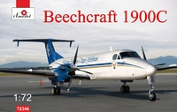Beechcraft 1900C авиалайнер. 72346 Amodel 1:72
