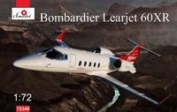 Learjet 60XR Bombardier бизнес-джет. 72349 Amodel 1:72