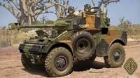 Колесный разведывательный броневик AML-90. Масштаб 1/72