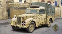 Легкий грузовик Tilly (10HP). Масштаб 1/72