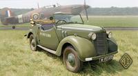 Британский штабной автомобиль Tourer 8HP. Масштаб 1/72