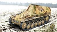 Подвозчик боеприпасов на базе Wespe. Масштаб 1/72