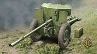 Французская 25 мм противотанковая пушка модель 1934 г. Масштаб 1/72