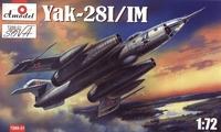 Як-28 И/ИМ фронтовой бомбардировщик. 7288-01 Amodel 1:72