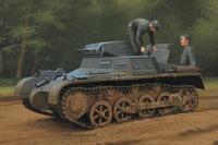 Т-I (Pz.Kpfw.I) легкий танк ранний. 80145 HobbyBoss 1:35