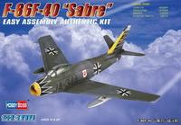 Ф-86Ф-40 «Сэйбр» (F-86F-40) Sabre) истребитель. 80259 HobbyBoss 1:72