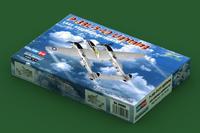 Р-38 «Лайтнинг» (P-38-5-LO Lightning) тяжелый истребитель. 80284 HobbyBoss 1:72
