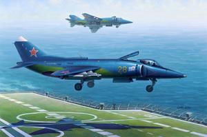 Як-38 палубный штурмовик вертикального взлёта и посадки. 80362 Hobby Boss 1:48