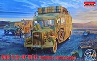 Opel 3.6-47 Omnibus Staffwagen штабной автобус. 810 Roden 1:35