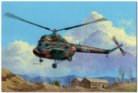 Ми-2Т многоцелевой вертолет. 87241 Hobby Boss 1:72