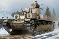 Т-28 средний танк с клепанной броней. 83853 Hobby Boss 1:35