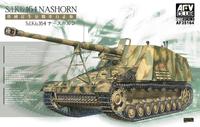 Sd.Kfz.164 Nashorn САУ-истребитель танков. AF35164 AFV Club 1:35