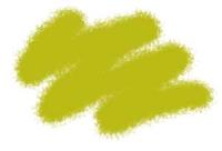 №18 желто-оливковый немецкий. Краска акриловая <18-акр>