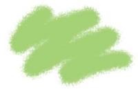 №19 светло-зеленый. Краска акриловая <19-акр>
