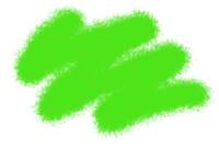 №46 ярко-зеленый. Краска акриловая <46-акр>