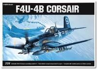 """F4U-4B """"Корсар"""" (Chance Vought F4U-4 Corsair) палубный истребитель. 12267 Academy 1:48"""