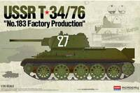Т-34-76 танк завода №183 - 13505 Academy 1:35