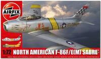 Ф-86Ф «Сэйбр» (F-86F/E(M) Sabre) истребитель. A03082A Airfix 1:72