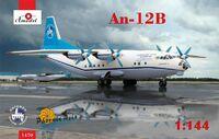 Ан-12Б военно-транспортный самолет 1470 Amodel 1:144