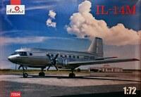 Ил-14М ближнемагистральный авиалайнер. 72324 Amodel 1:72