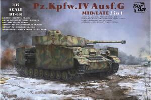 Pz.Kpfw.IV Ausf.G mid/late - BT-001 Border 1:35