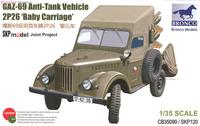 ГАЗ-69 (2П26) ПТРК «Шмель». CB35099 Bronco 1:35