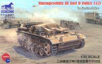 Sturmgeschutz III Ausf D штурмовое орудие. CB35117 Bronco 1:35