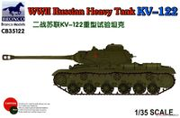 КВ-122 тяжелый танк. CB35122 Bronco 1:35