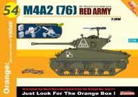 М4А2 (76) «Шерман» (M4A2 (76) Sherman) средний танк Красной Армии. 9154 Cyber Hobby 1:35