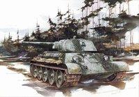 Т-34-76 обр. 1941 средний танк. 6205 Dragon 1:35