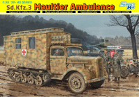Sd.Kfz.3 Maultier Ambulance - 6766 Dragon 1:35