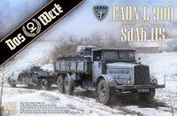 Faun L900 грузовик-танковый транспортер - DW-35003 Das Werk 1:35