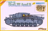 Sturmgeschutz III Ausf B SdKfz 142 (Штуг III) штурмовое орудие. 9132 Dragon 1:35