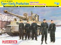 "Т-VI ""Тигр"" (Pz.Kpfw.VI Ausf.E Tiger I) М. Витмана № S04 тяжелый танк ранней серии с экипажем. 6730 Dragon 1:35"
