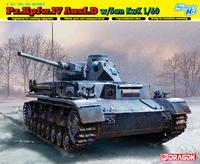 Т-IV (Pz.Kpfw.IV Ausf.D mit 5 cm PAK 38 L/60) опытный средний танк. 6736 Dragon 1:35
