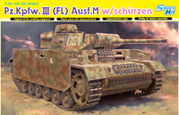 Т-III (Pz.Kpfw.III Ausf.M Flammpanzer) огнеметный средний танк. 6776 Dragon 1:35